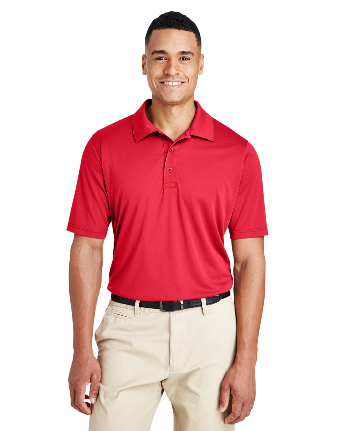 Team 365 Men's Zone Performance Polo SPORT RED