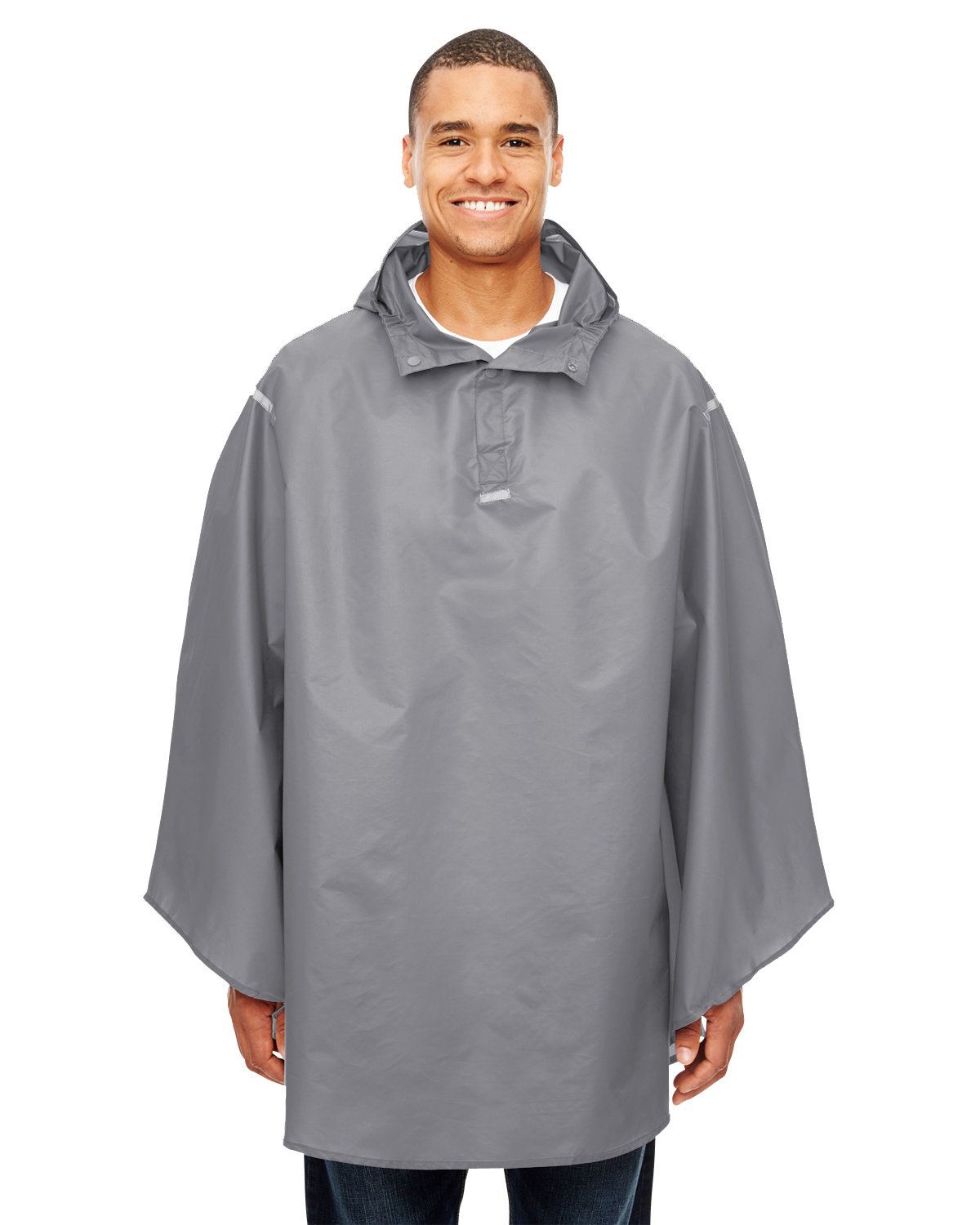 Team 365 Adult Zone Protect Packable Poncho SPORT GRAPHITE