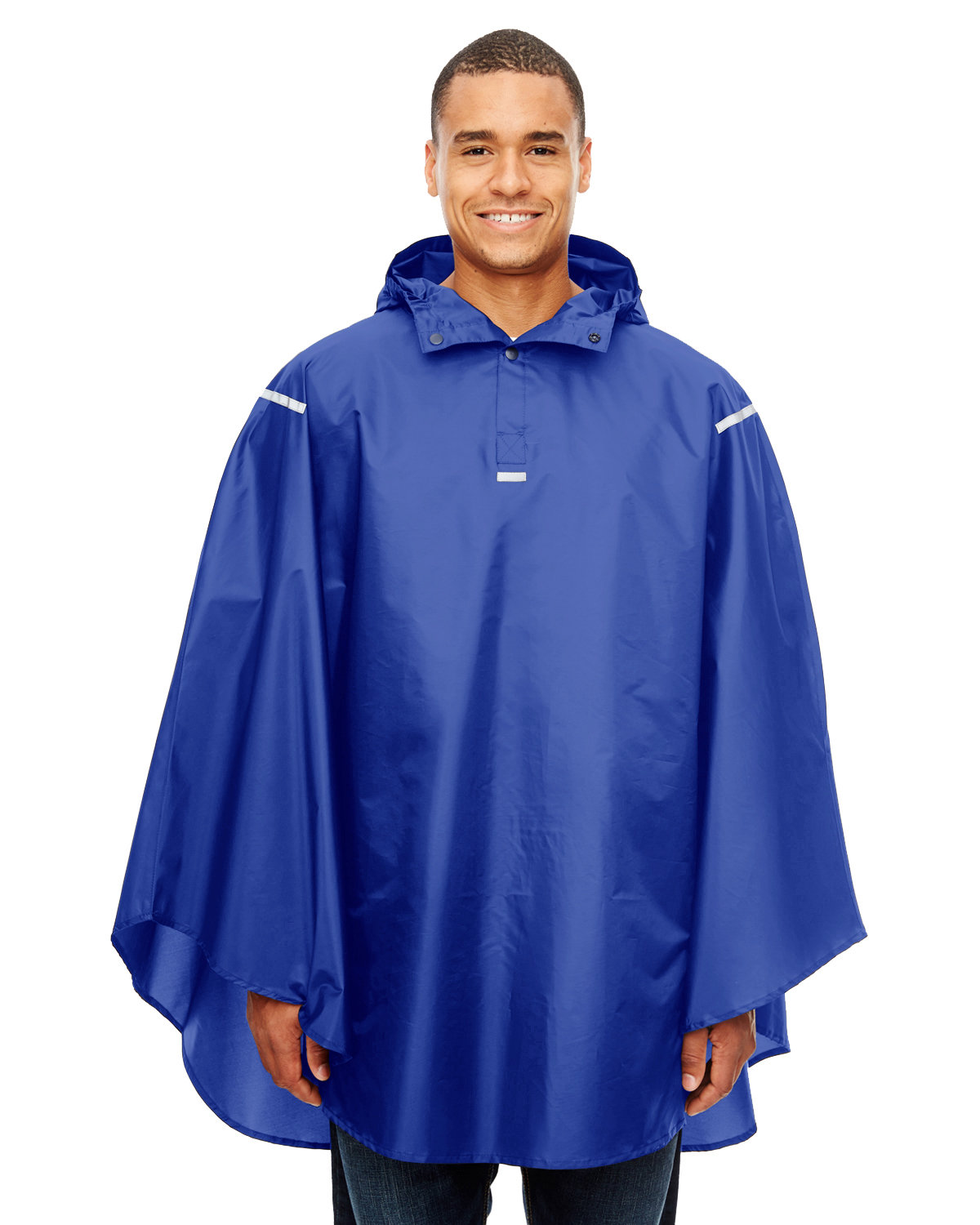 Team 365 Adult Zone Protect Packable Poncho SPORT ROYAL