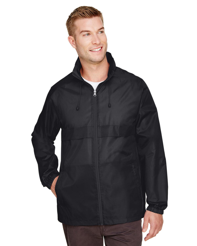 Team 365 Adult Zone Protect Lightweight Jacket BLACK