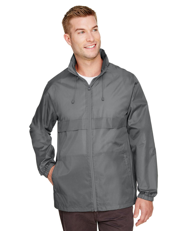 Team 365 Adult Zone Protect Lightweight Jacket SPORT GRAPHITE