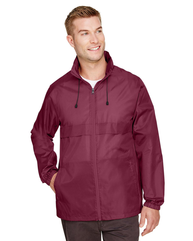 Team 365 Adult Zone Protect Lightweight Jacket SPORT MAROON