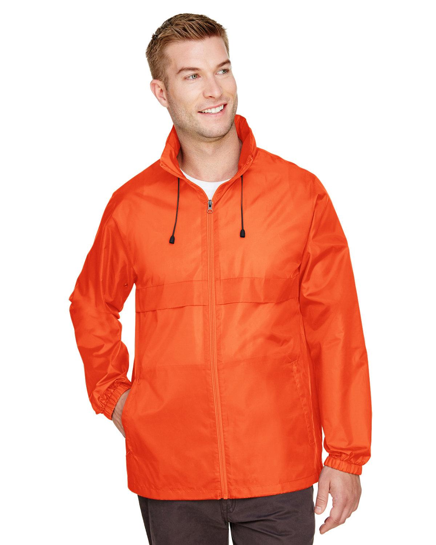 Team 365 Adult Zone Protect Lightweight Jacket SPORT ORANGE