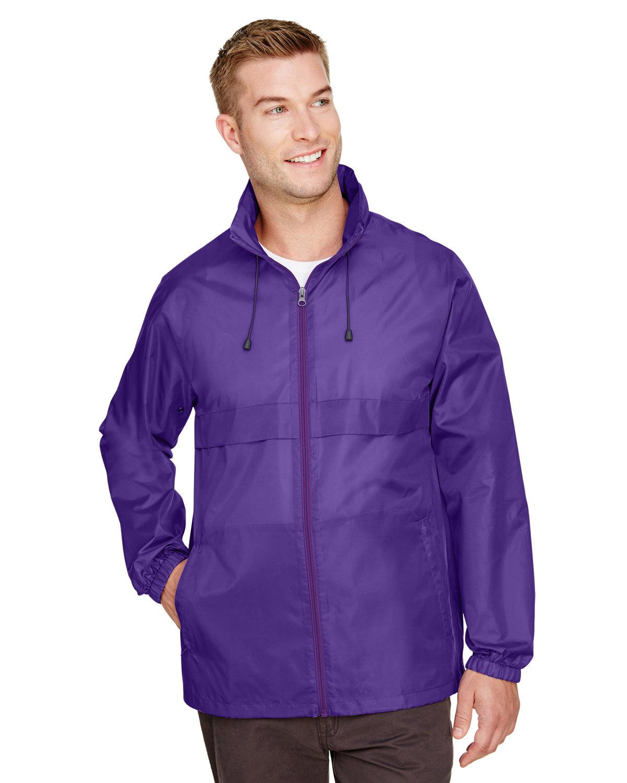 Team 365 Adult Zone Protect Lightweight Jacket SPORT PURPLE