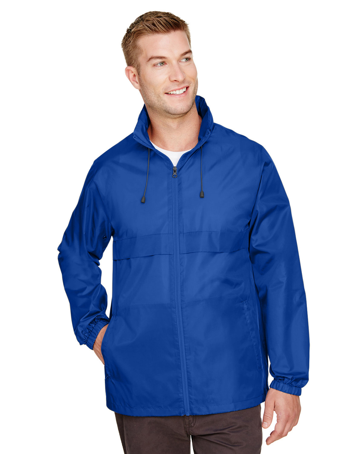 Team 365 Adult Zone Protect Lightweight Jacket SPORT ROYAL