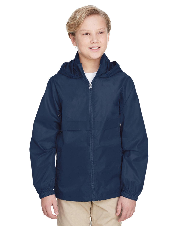 Team 365 Youth Zone Protect Lightweight Jacket SPORT DARK NAVY