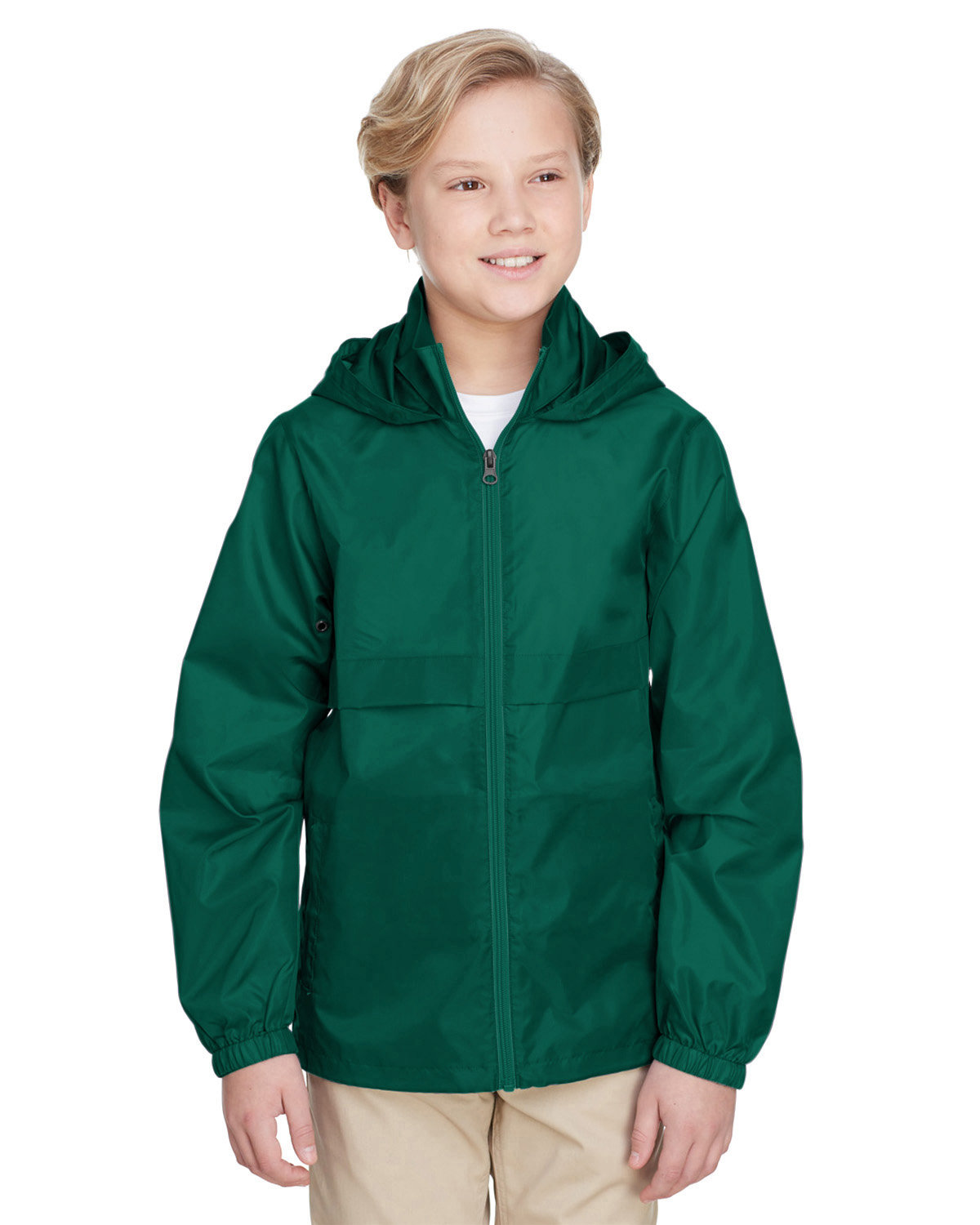 Team 365 Youth Zone Protect Lightweight Jacket SPORT FOREST