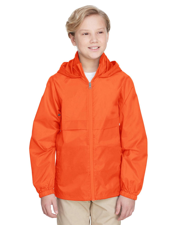 Team 365 Youth Zone Protect Lightweight Jacket SPORT ORANGE