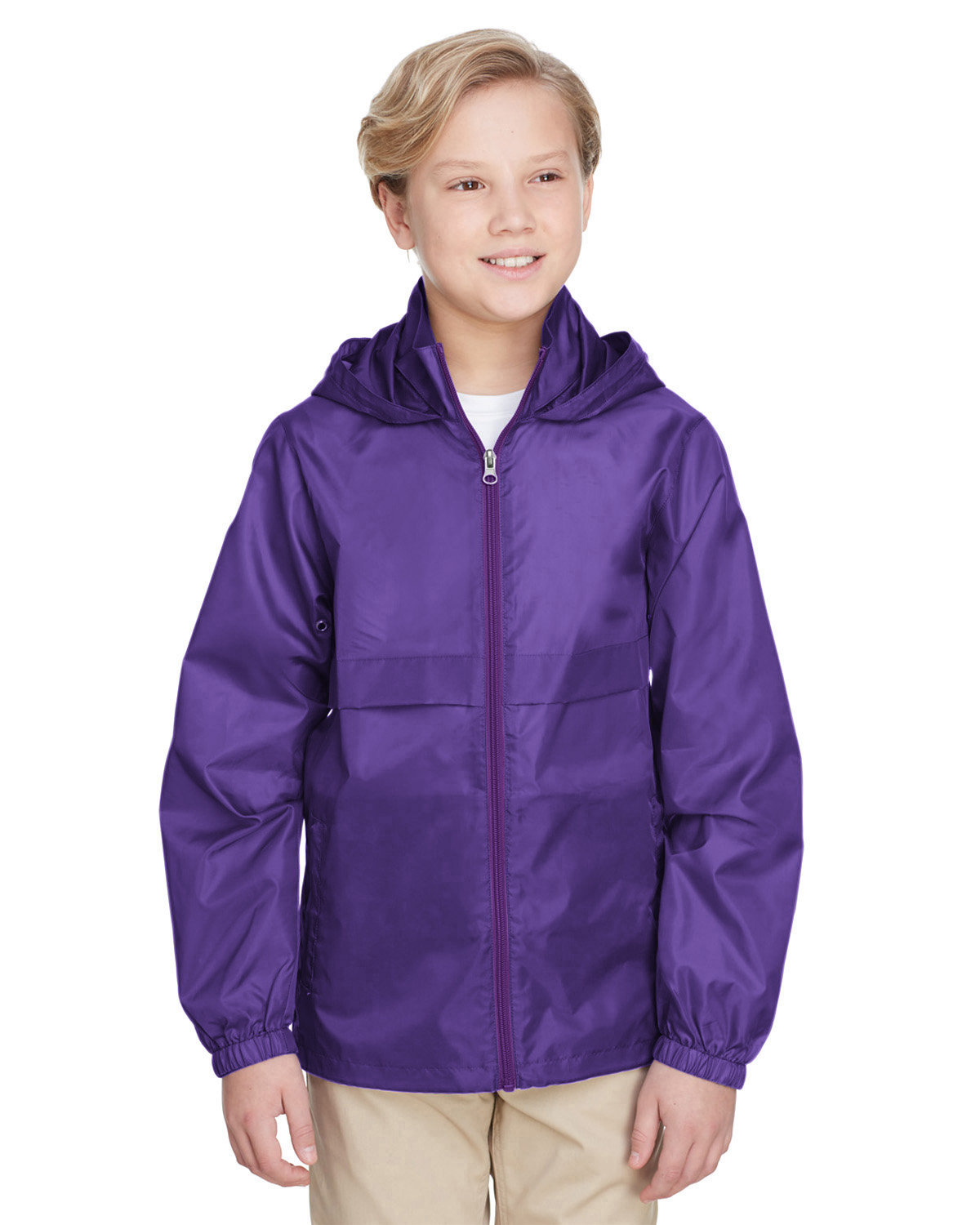 Team 365 Youth Zone Protect Lightweight Jacket SPORT PURPLE