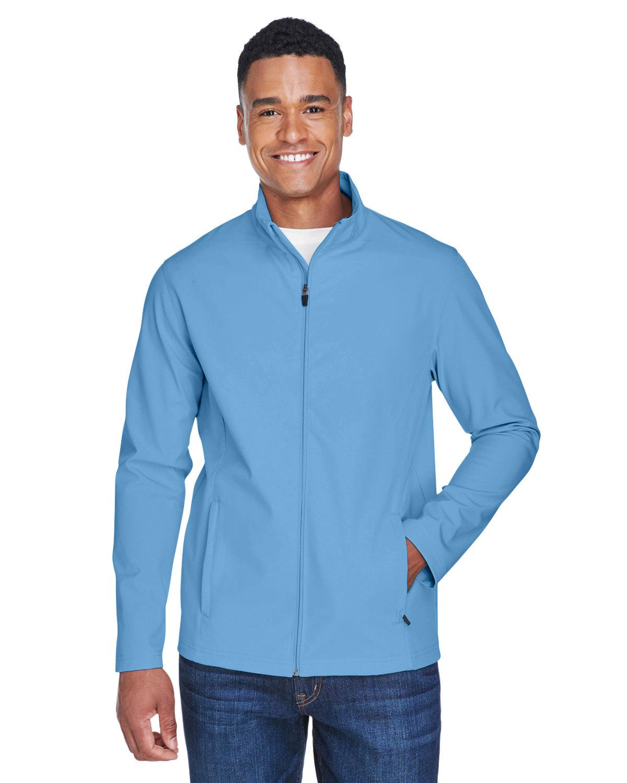 Team 365 Men's Leader Soft Shell Jacket SPORT LIGHT BLUE