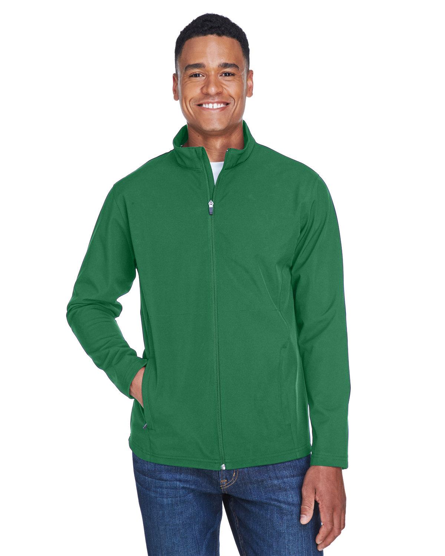 Team 365 Men's Leader Soft Shell Jacket SPORT DARK GREEN