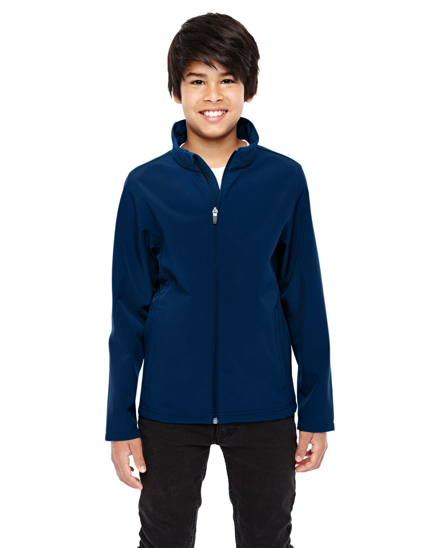 Team 365 Youth Leader Soft Shell Jacket SPORT DARK NAVY