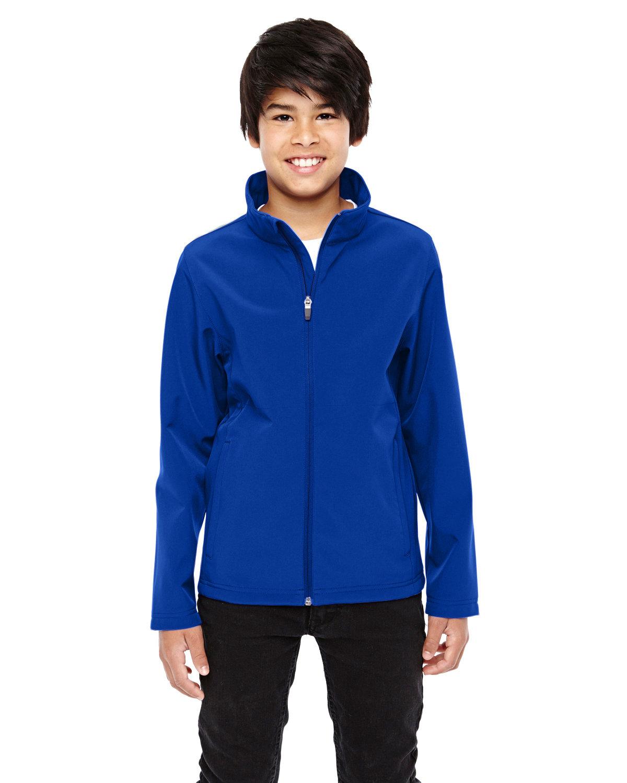 Team 365 Youth Leader Soft Shell Jacket SPORT ROYAL