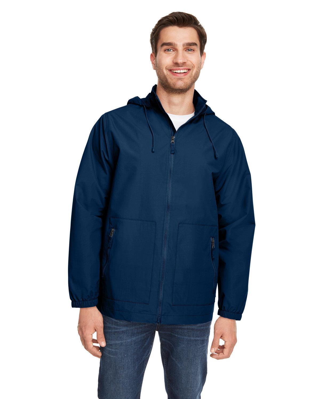 Team 365 Unisex Zone HydroSport™ Storm Flap Jacket SPORT DARK NAVY