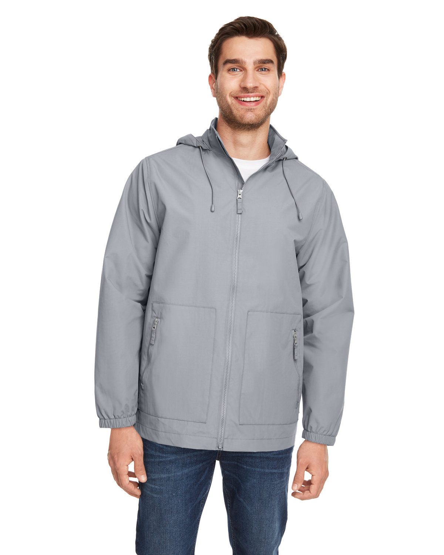 Team 365 Unisex Zone HydroSport™ Storm Flap Jacket SPORT GRAPHITE