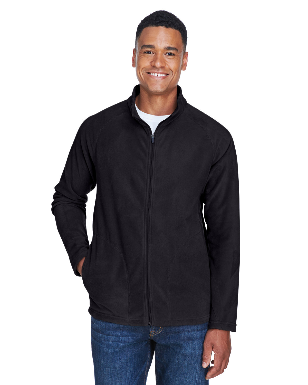 Team 365 Men's Campus Microfleece Jacket BLACK