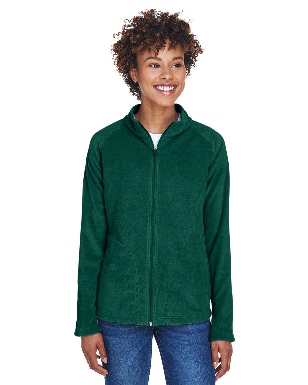 Team 365 Ladies' Campus Microfleece Jacket SPORT FOREST