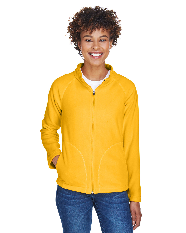 Team 365 Ladies' Campus Microfleece Jacket SPORT ATH GOLD