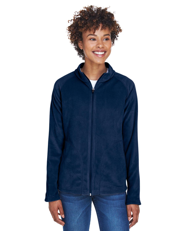 Team 365 Ladies' Campus Microfleece Jacket SPORT DARK NAVY