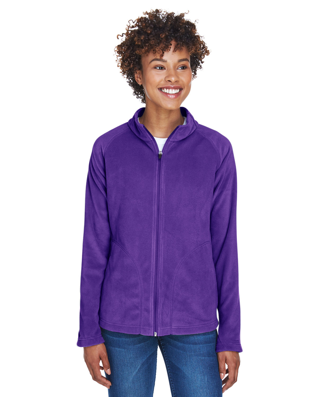 Team 365 Ladies' Campus Microfleece Jacket SPORT PURPLE