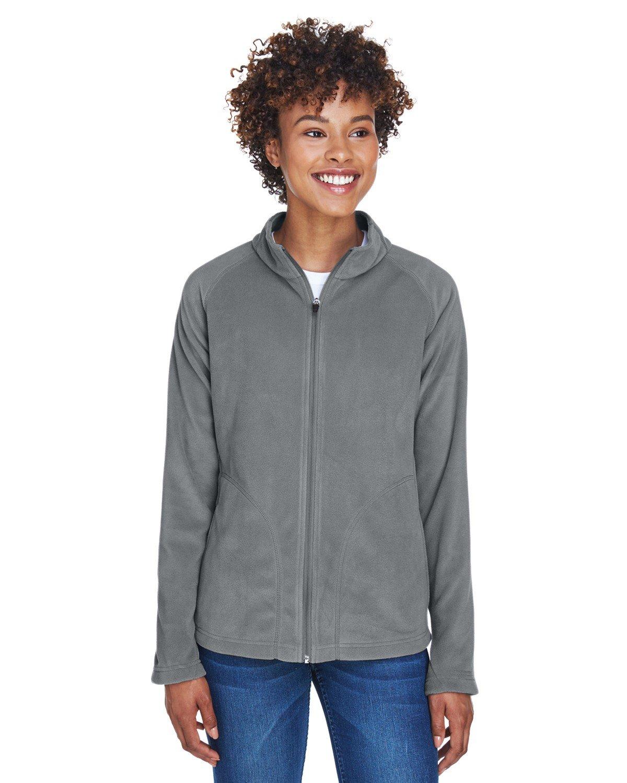 Team 365 Ladies' Campus Microfleece Jacket SPORT GRAPHITE