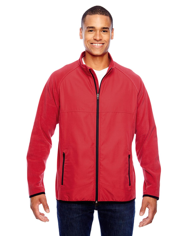 Team 365 Men's Pride Microfleece Jacket SPORT RED