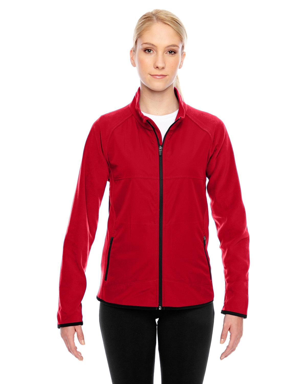 Team 365 Ladies' Pride Microfleece Jacket SPORT RED