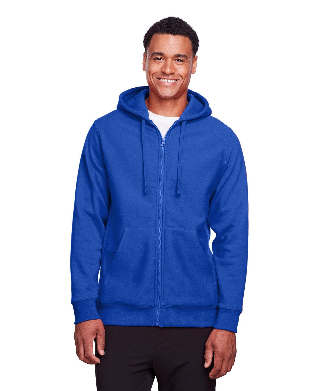 Team 365 Men's Zone HydroSport™ Heavyweight Full-Zip Hooded Sweatshirt SPORT ROYAL