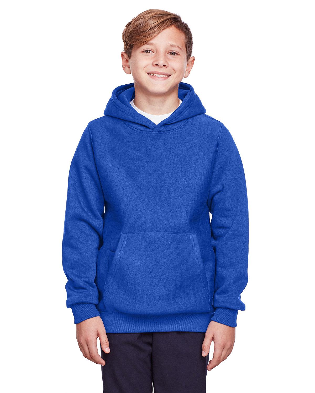 Team 365 Youth Zone HydroSport™ Heavyweight Pullover Hooded Sweatshirt SPORT ROYAL