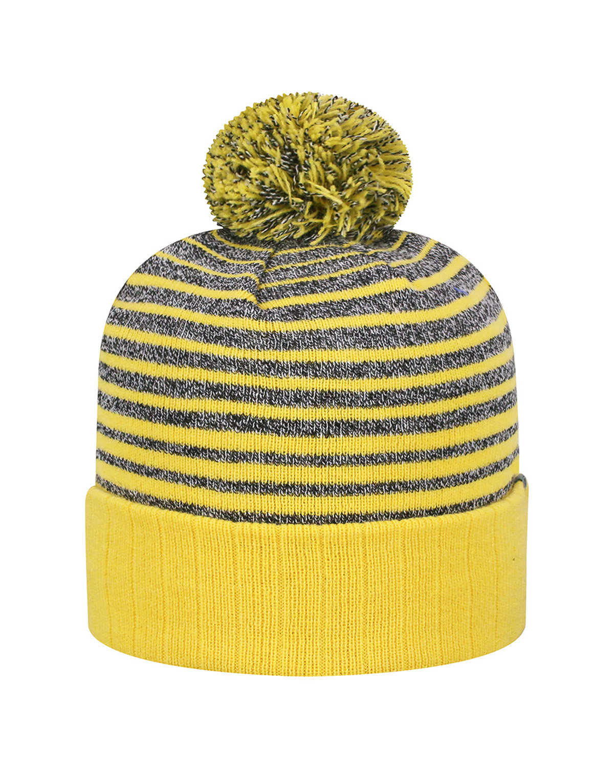 Top Of The World Adult Ritz Knit Cap GOLD