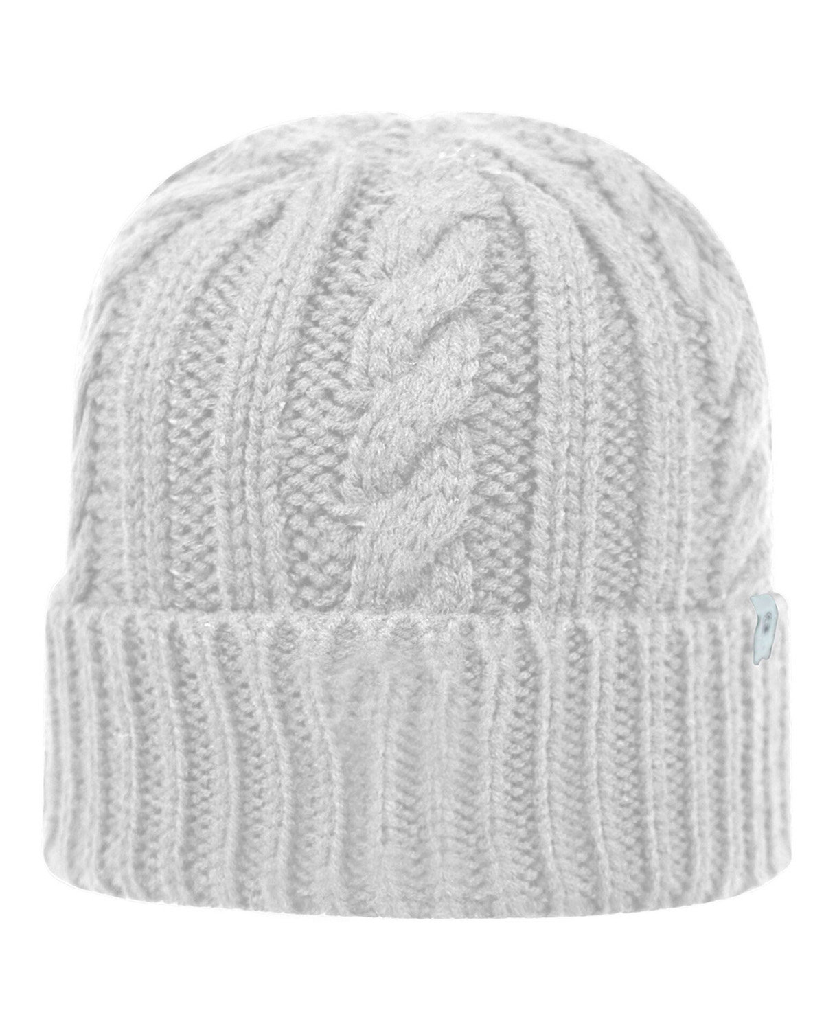 Top Of The World Adult Empire Knit Cap WHITE