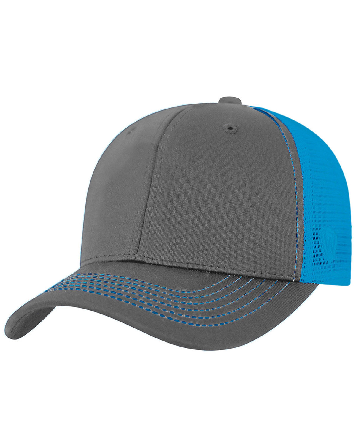 Top Of The World Adult Ranger Cap CHRCL/ NEON BLUE