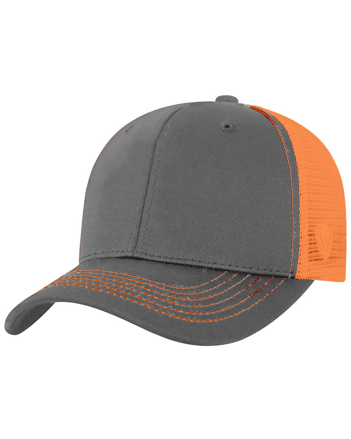 Top Of The World Adult Ranger Cap CHRCL/ NEON ORNG