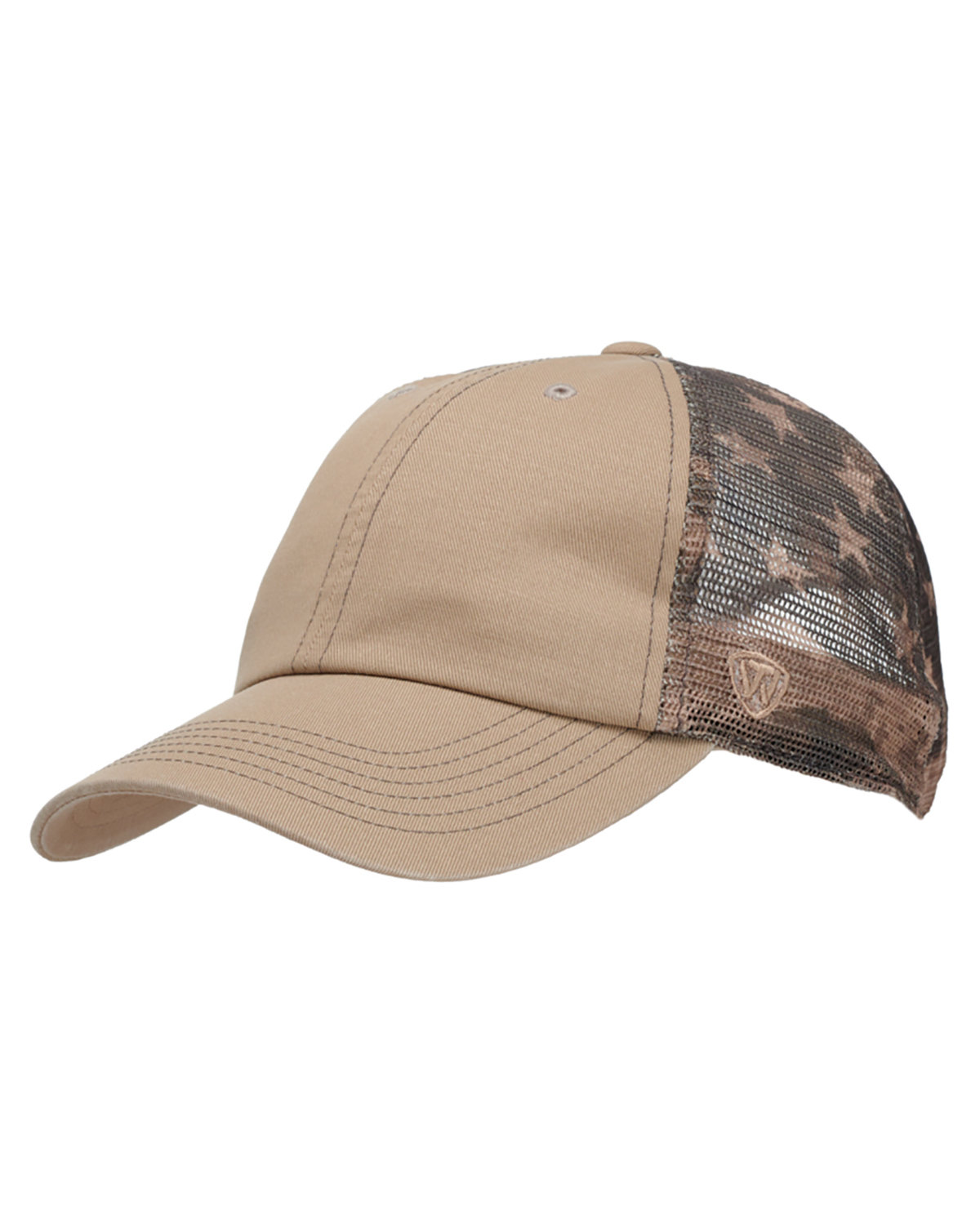 Top Of The World Adult Offroad Cap KHAKI FLAGTACULR