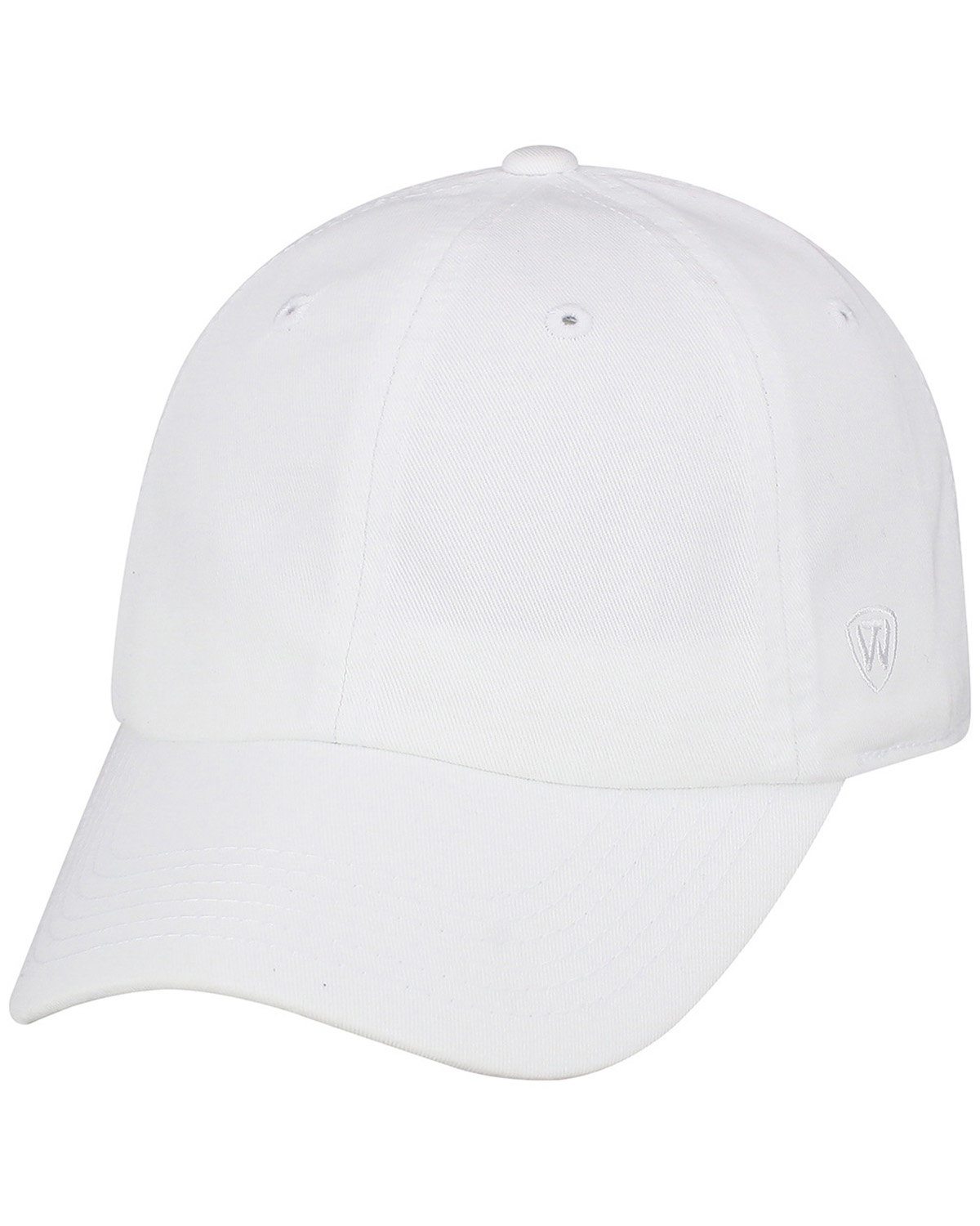Top Of The World Adult Crew  Cap WHITE
