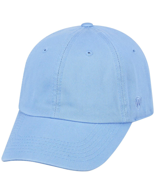 Top Of The World Adult Crew  Cap LIGHT BLUE