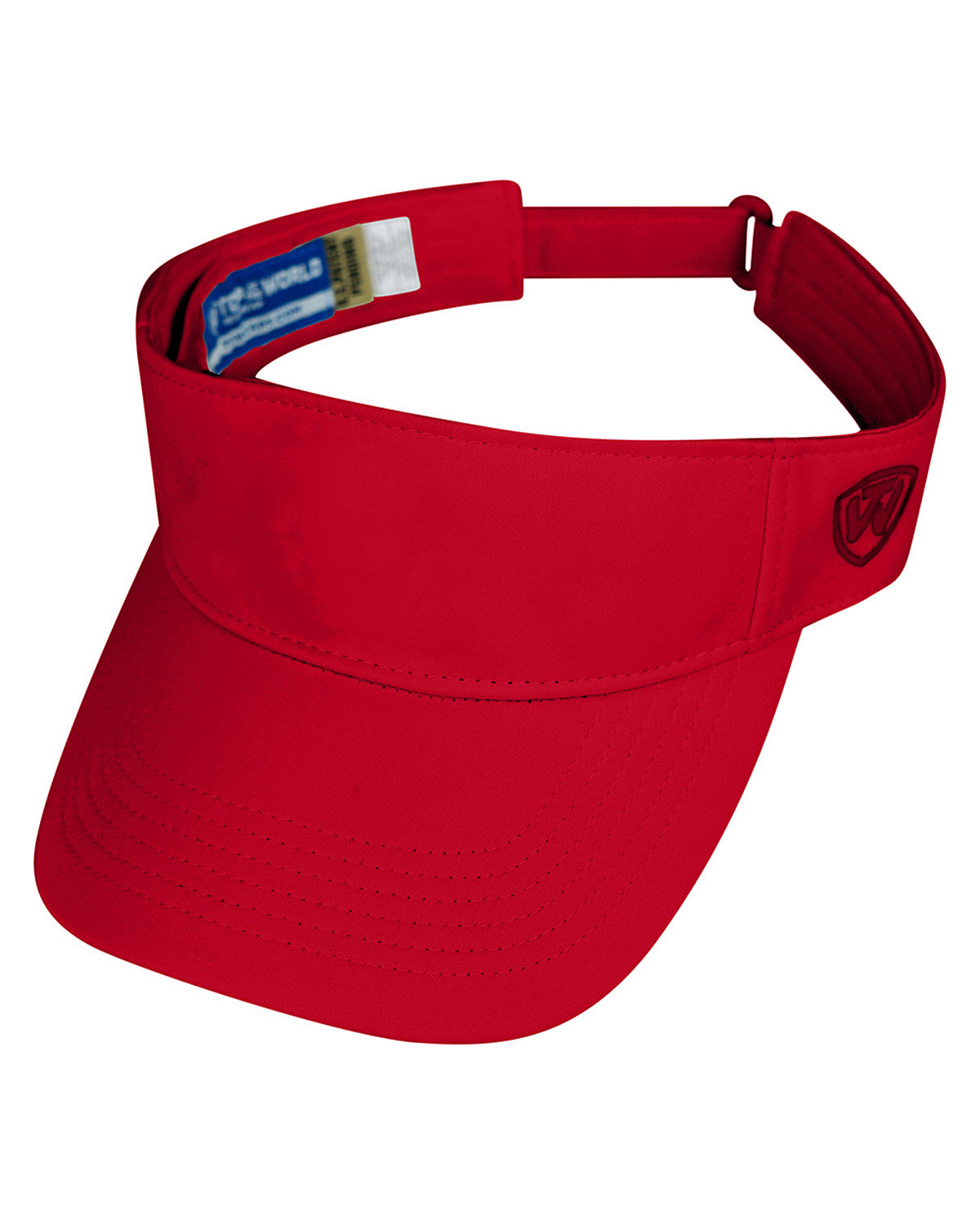 Top Of The World Adult Hawkeye Visor RED