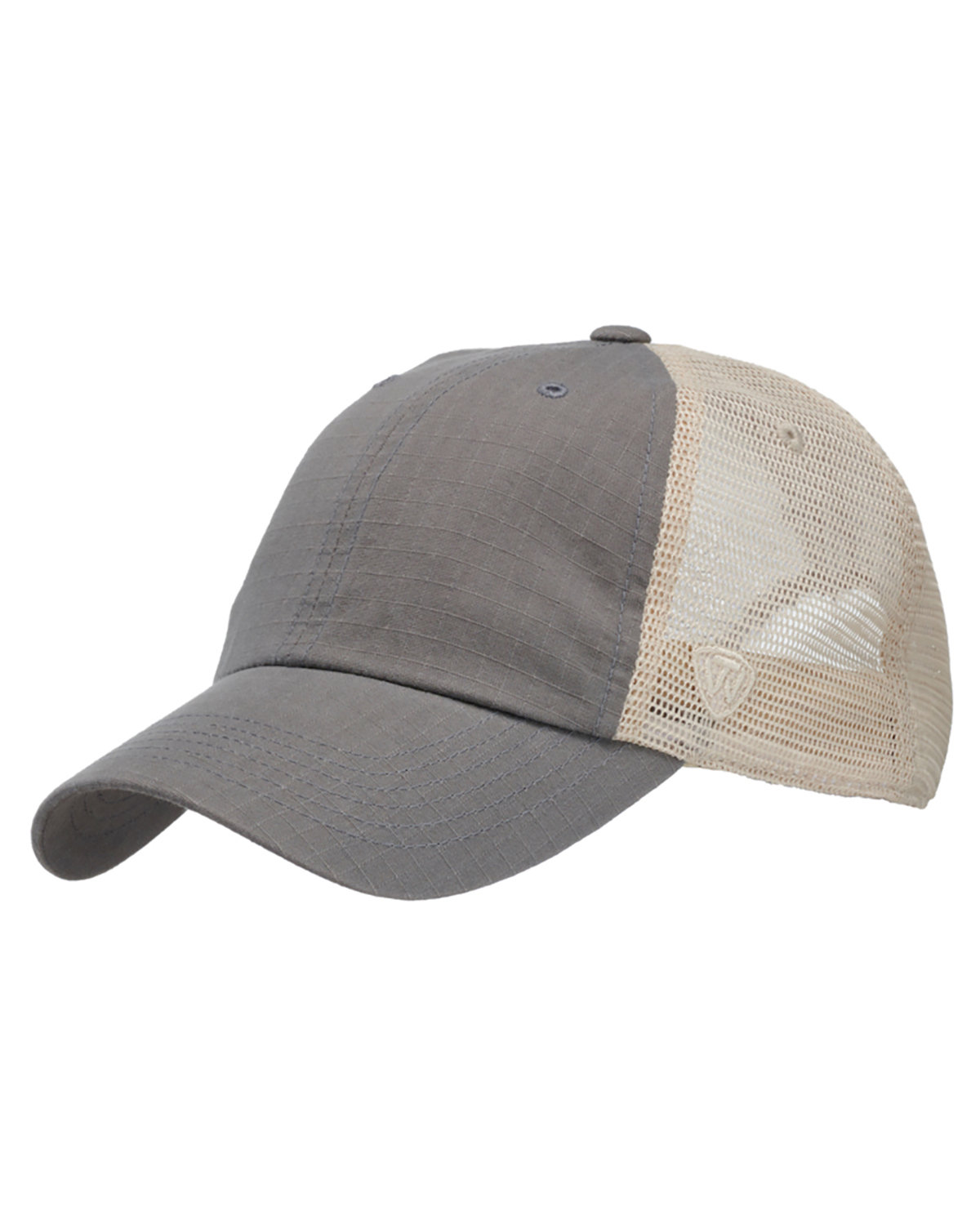 Top Of The World Riptide Ripstop Trucker Hat GREY