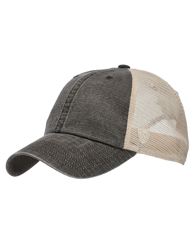 Top Of The World Riptide Ripstop Trucker Hat BLACK