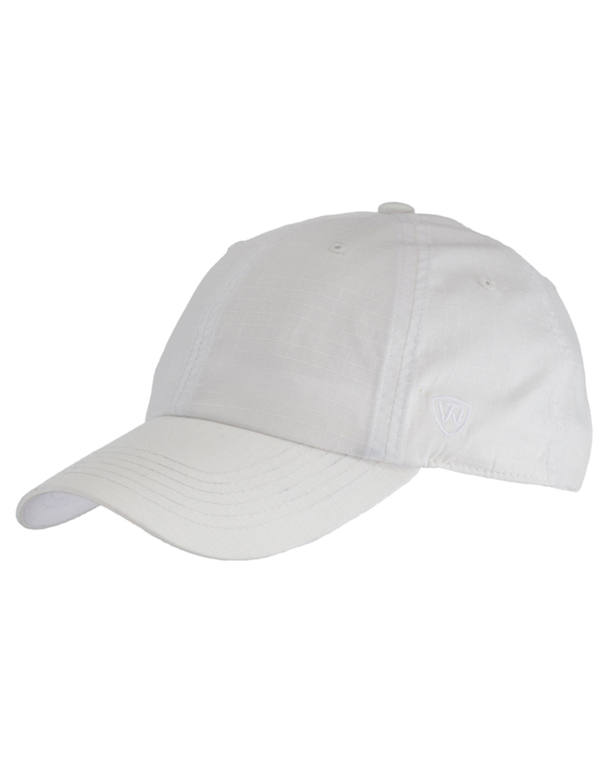 Top Of The World Ripper Washed Cotton Ripstop Hat WHITE