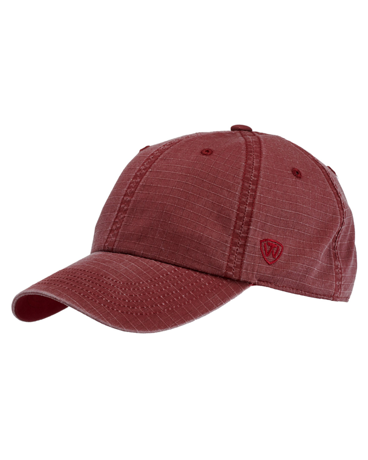 Top Of The World Ripper Washed Cotton Ripstop Hat BURGUNDY