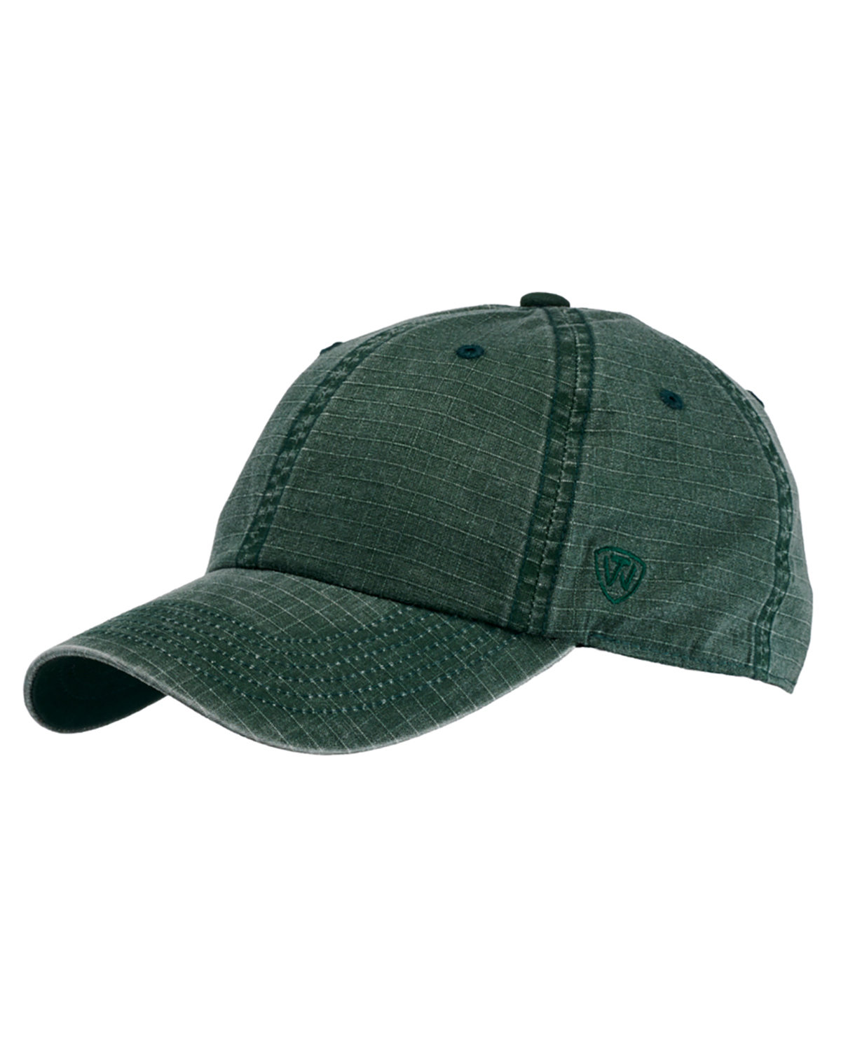 Top Of The World Ripper Washed Cotton Ripstop Hat FOREST GREEN