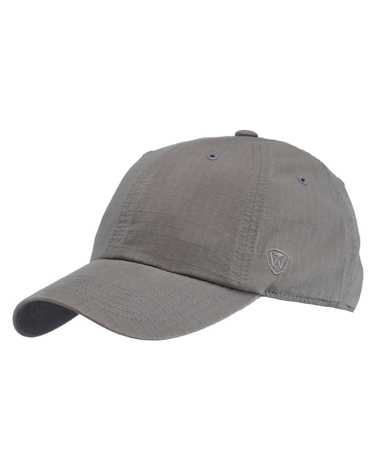 Top Of The World Ripper Washed Cotton Ripstop Hat GREY