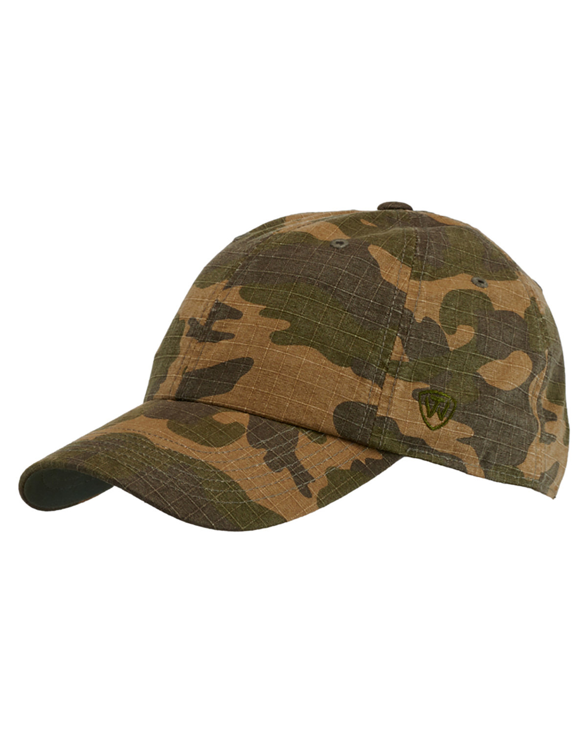 Top Of The World Ripper Washed Cotton Ripstop Hat CAMO
