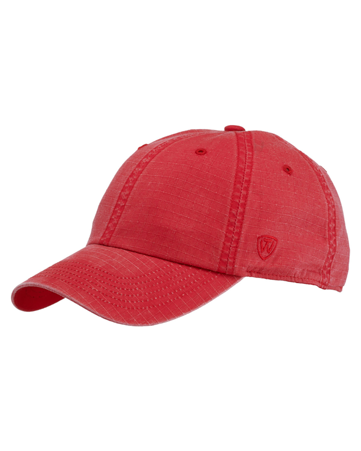 Top Of The World Ripper Washed Cotton Ripstop Hat RED