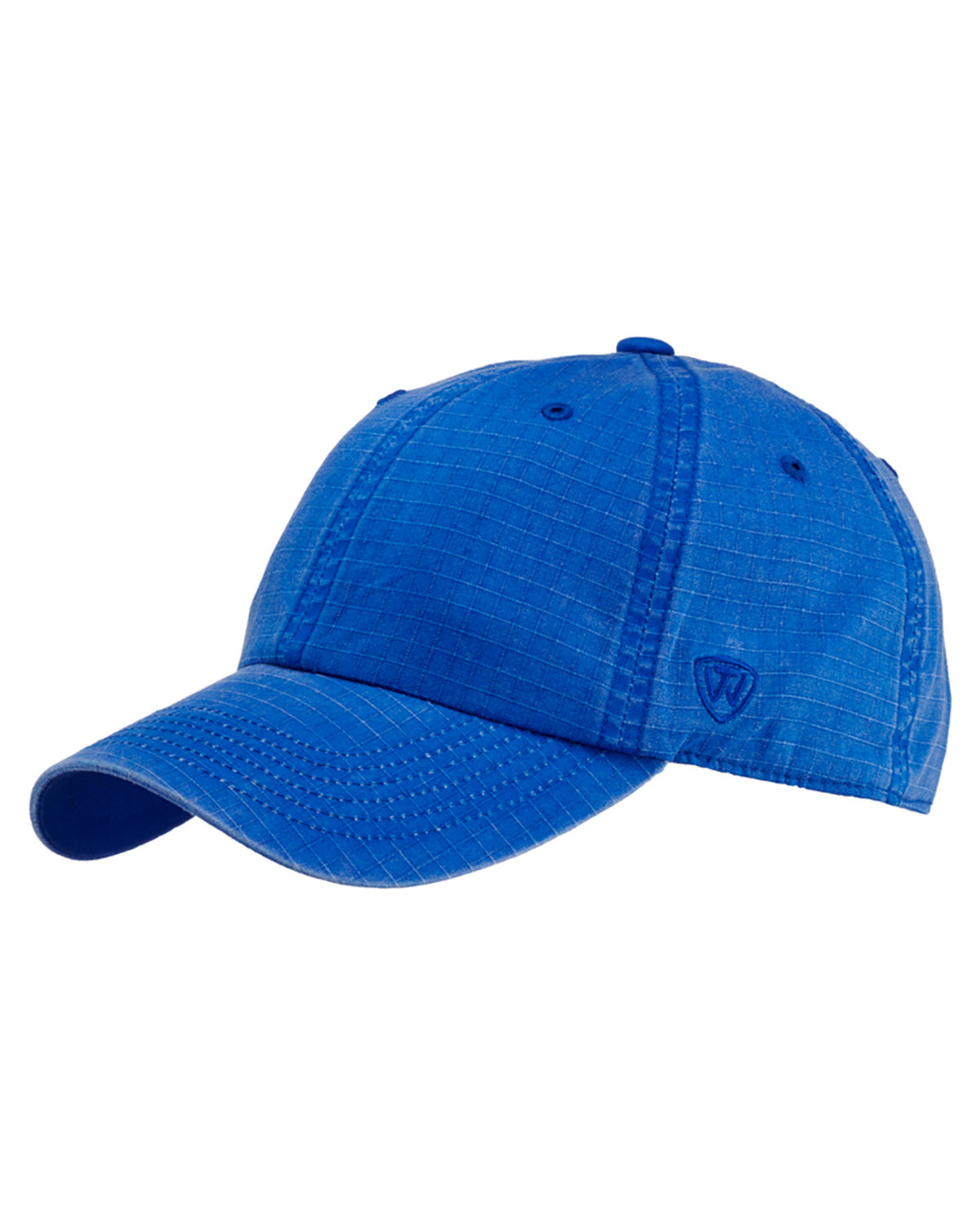 Top Of The World Ripper Washed Cotton Ripstop Hat ROYAL