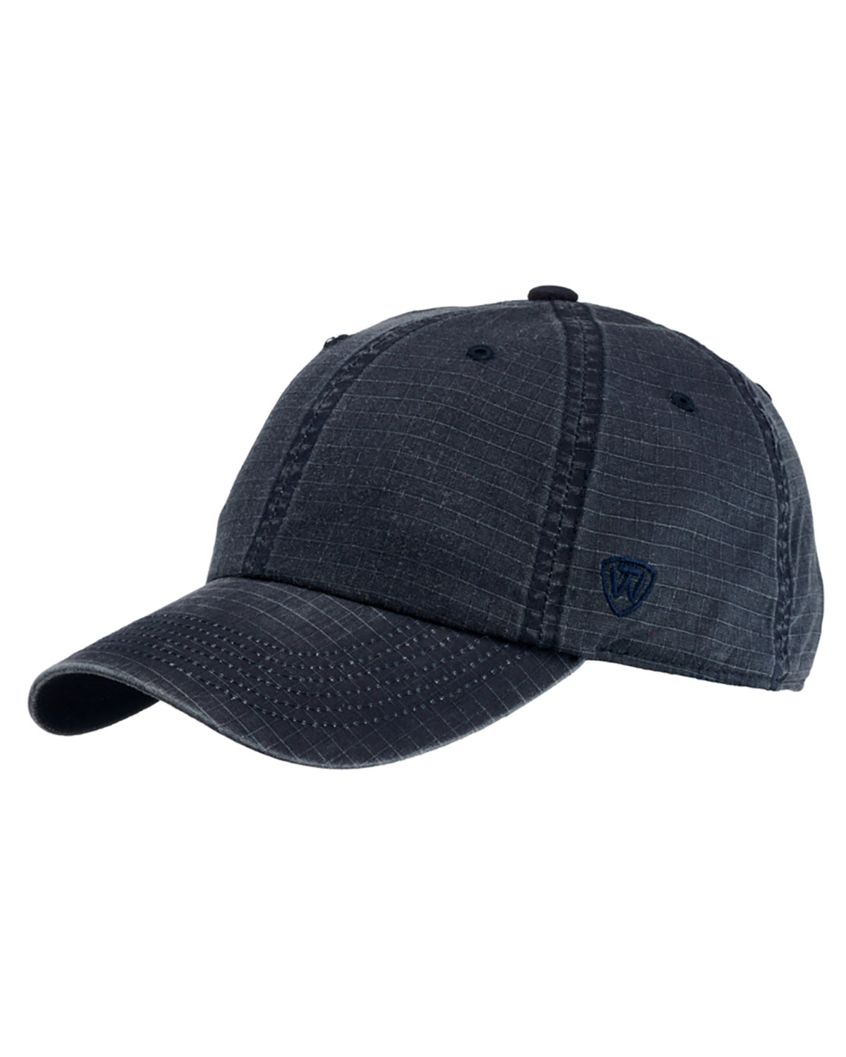 Top Of The World Ripper Washed Cotton Ripstop Hat NAVY