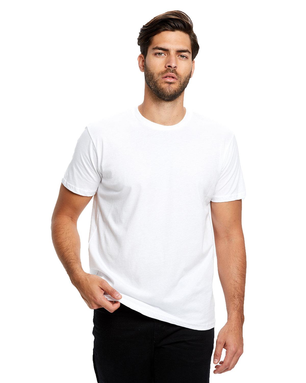 US Blanks Men's Made in USA Short Sleeve Crew T-Shirt WHITE