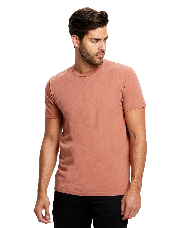 US Blanks Men's Made in USA Short Sleeve Crew T-Shirt CINNAMON