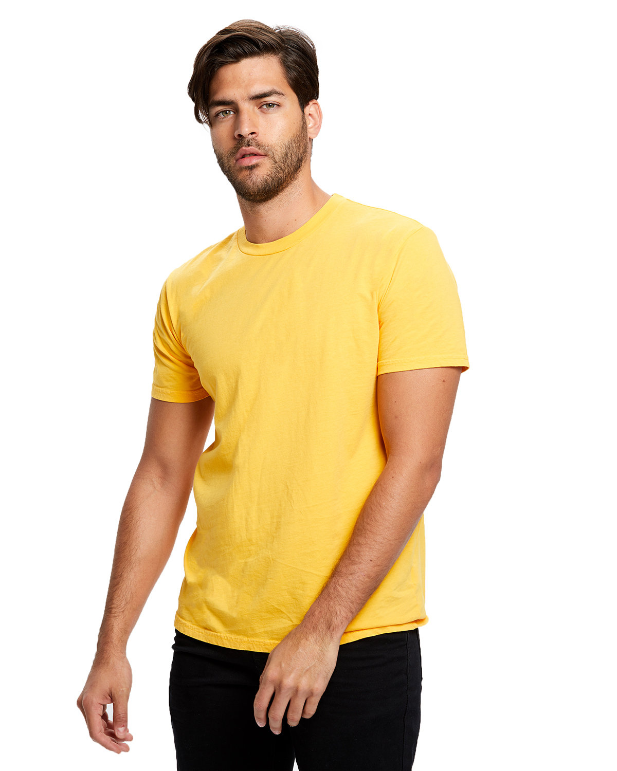 US Blanks Men's Made in USA Short Sleeve Crew T-Shirt GOLD